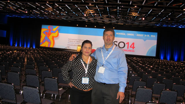 Dr. Louisiana Valenzuela Attends the IFSO Conference in Montreal, Quebec, Canada